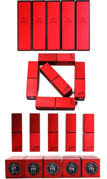 Son Bbia Last Lipstick Red Series 6