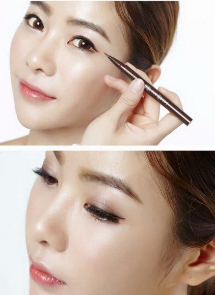 Bút kẻ mắt dạ edge brush liner 2
