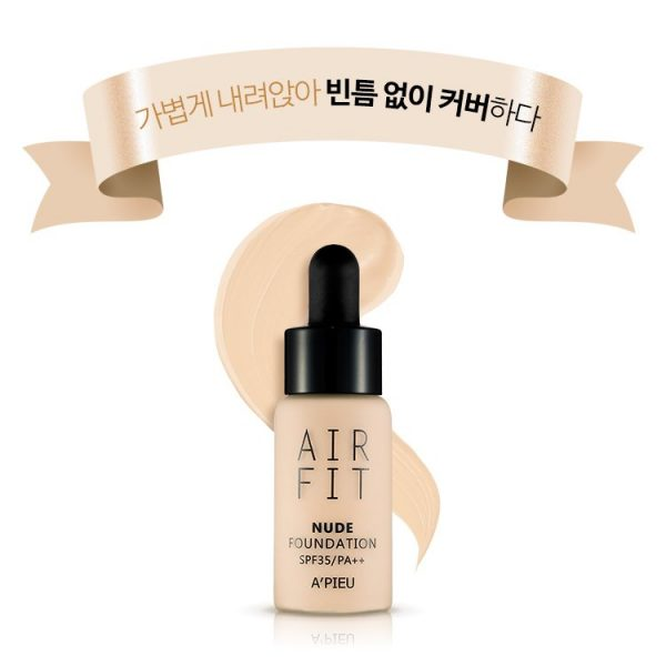Kem nền nước Air Fit Apieu Foundation | Kem nền nước Air Fit Apieu Foundation