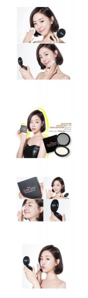 Phấn nén Black Rouge Oil Zero Powder Pact1