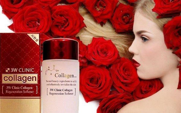 my pham nuoc hoa hong 3w clinic collagen
