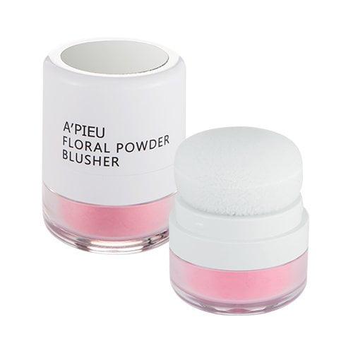 phấn má dạng bột Apieu Floral Powder Blusher