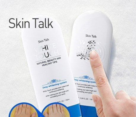 skin talk white touch plus 2