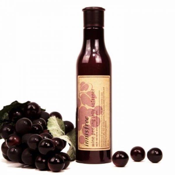 Tẩy Tế Bào Chết Rượu Vang Wine Peeling Jelly Softener Innisfree