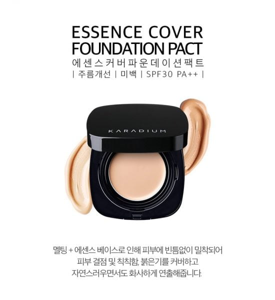 Essence cover foundation pact 1