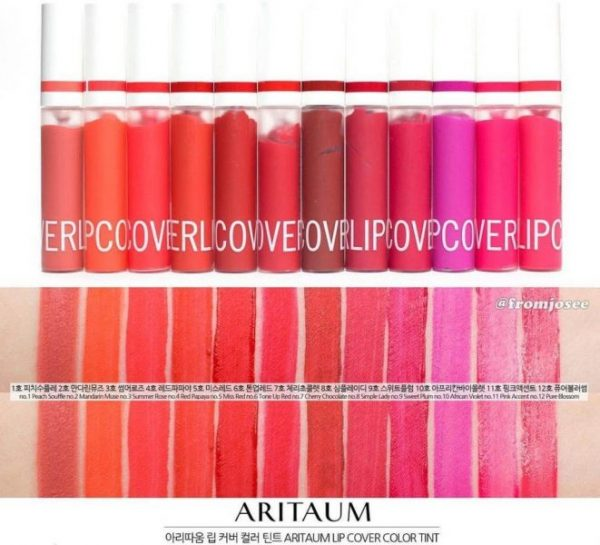 Son Aritaum Lip Cover Color Tint 8