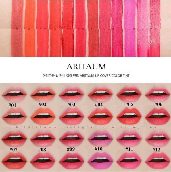 Son Aritaum Lip Cover Color Tint 9