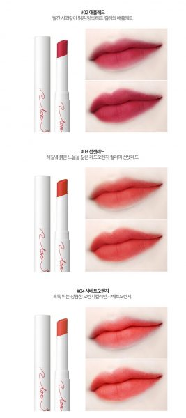 Son Karadium Pucca Love Edition Smudging Tint Stick