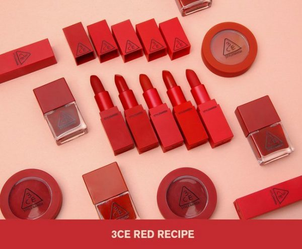Son 3CE Red Recipe