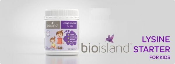 Bio Island Lysine Starter của Úc | Bio Island Lysine Starter của Úc