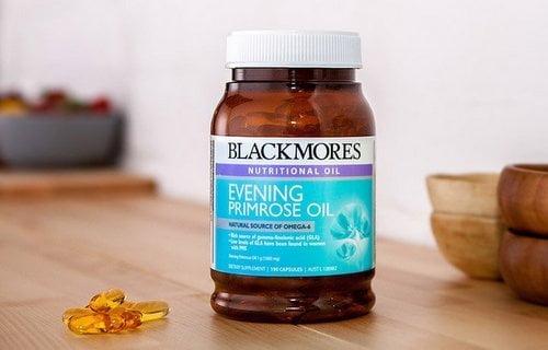 Tinh dầu hoa anh thảo Blackmores Evening Primrose Oil