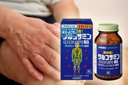 Glucosamin Orihiro 1500mg tốt cho người bị loãng xương thoái hóa xương viêm khớp
