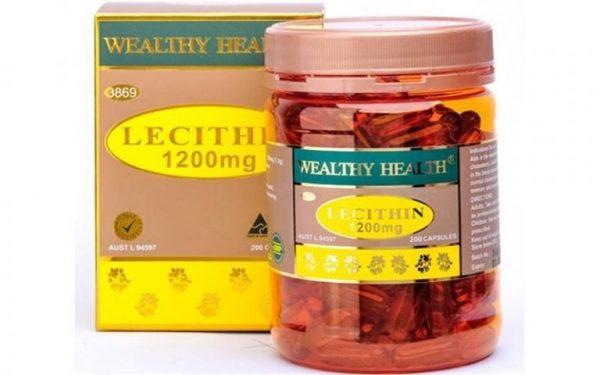 Tinh chất mầm đậu nành Leicithin Wealthyhealth của Úc | Tinh chất mầm đậu nành Leicithin Wealthyhealth của Úc