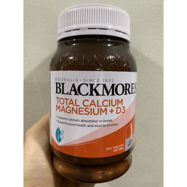 Viên Uống Blackmores Bone Health Total Calcium Magnesium D3