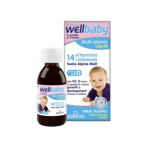 wellbaby multi vitamin liquid