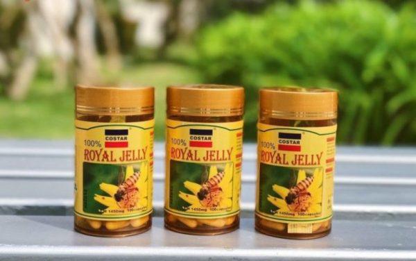 Costar Royal Jelly thích hợp cho phụ nữ người mới ốm dậy bị suy nhược cơ thể...