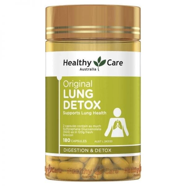 Healthy Care Original Lung Detox mẫu mới 2 | Healthy Care Original Lung Detox mẫu mới 2