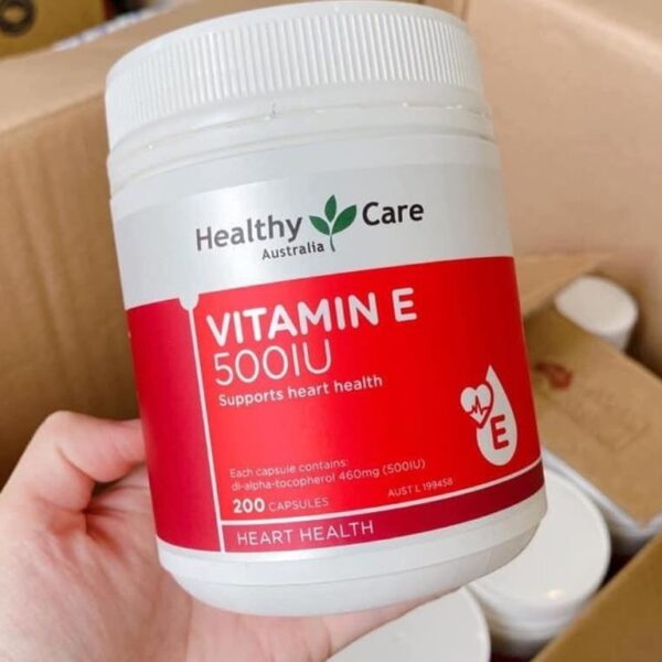 Healthy Care Vitamin E 500IU | Healthy Care Vitamin E 500IU