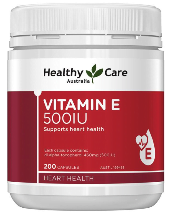 Healthy Care Vitamin E 500IU 2 | Healthy Care Vitamin E 500IU 2