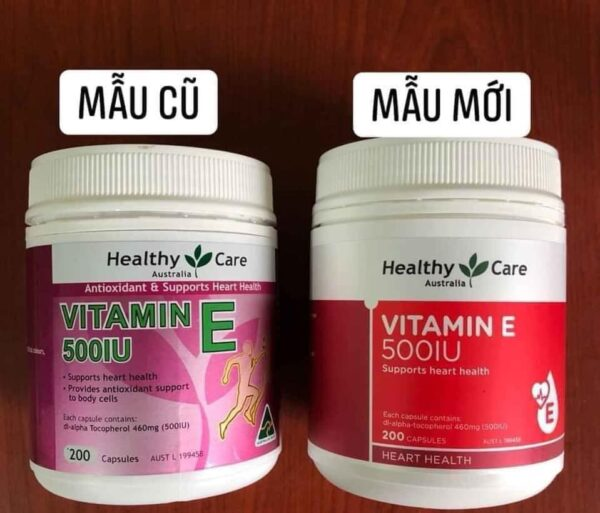 Healthy Care Vitamin E 500IU 4 | Healthy Care Vitamin E 500IU 4