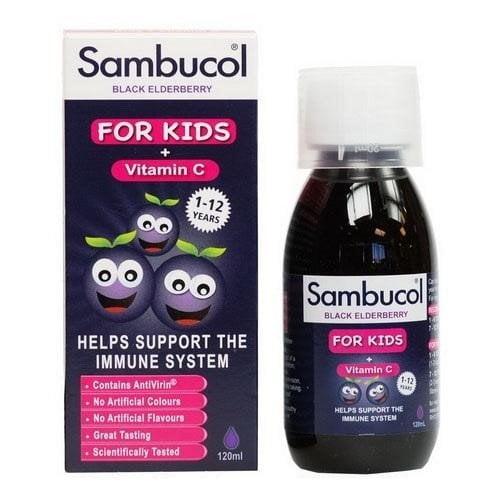Sản phẩm siro tăng sức đề kháng Sambucol