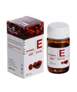 Vitamin E Zentiva 400