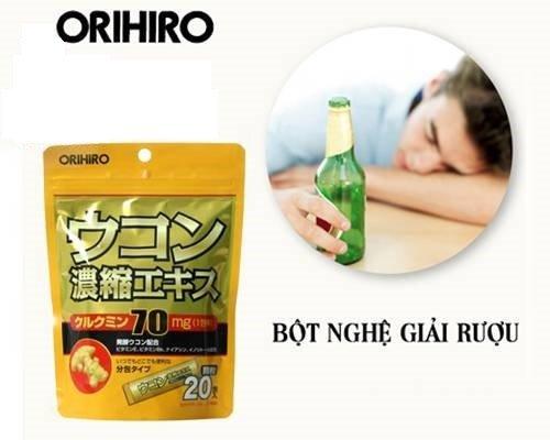 Thuốc Giải Rượu Nhật Bản Ukon Bảo Vệ Tốt Cho Gan, Dạ Dày | IKute