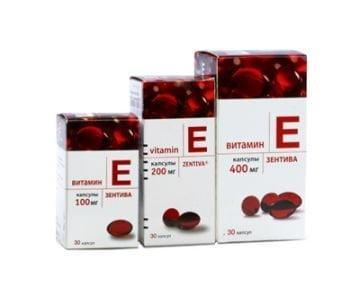 có 3 loại Vitamin E Zentiva | có 3 loại Vitamin E Zentiva