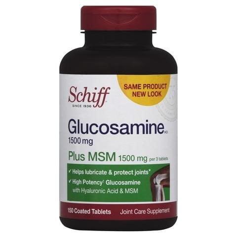 Schiff Glucosamine Plus MSM 1500mg – Hỗ trợ và điều trị bệnh xương khớp