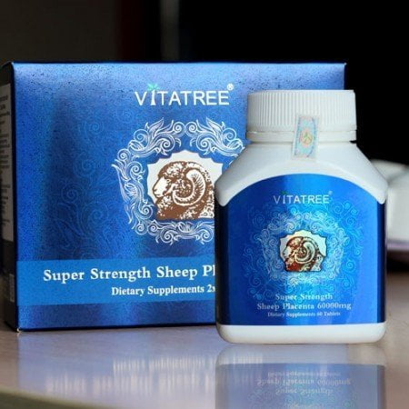 Sản phẩm nhau thai cừu Vitatree Super Strength Sheep Placenta | Sản phẩm nhau thai cừu Vitatree Super Strength Sheep Placenta