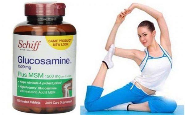 Schiff Glucosamine Plus MSM 1500mg - Hỗ trợ và điều trị bệnh xương khớp