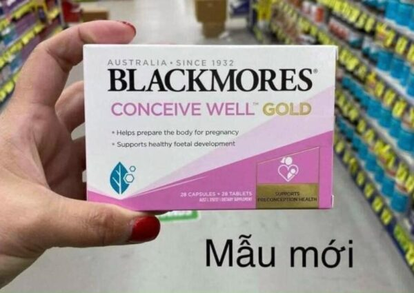 Blackmores Conceive Well Gold mau