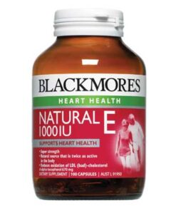 Blackmores Natural Vitamin E 1000IU 100 Viên | Blackmores Natural Vitamin E 1000IU 100 Viên