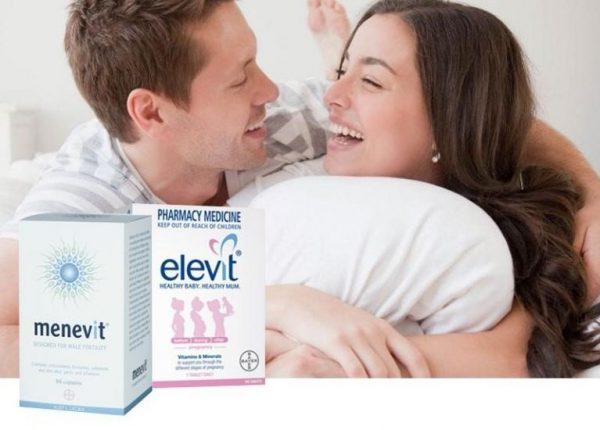 Các chuyên gia Úc khuyên các cặp vợ chồng nên sử dụng bộ đôi sản phẩm Elevit và Menevit | Các chuyên gia Úc khuyên các cặp vợ chồng nên sử dụng bộ đôi sản phẩm Elevit và Menevit