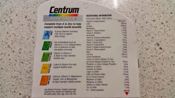 Centrum Advance MultiVitamin 1 | Centrum Advance MultiVitamin 1
