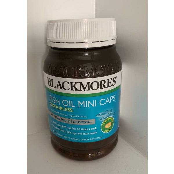 Dầu cá Blackmores Fish Oil mẫu mới 1 | Dầu cá Blackmores Fish Oil mẫu mới 1