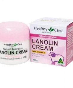 Healthy Care Lanolin cream with Vitamin E 100g | Healthy Care Lanolin cream with Vitamin E 100g