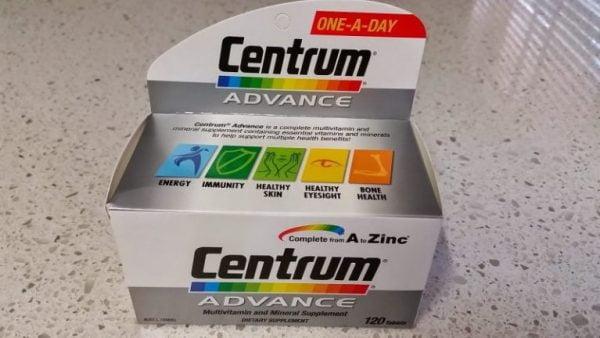 Centrum Advance Multivitamin - Vitamin tổng hợp cung cấp dưỡng chất cho người dưới 50 tuổi