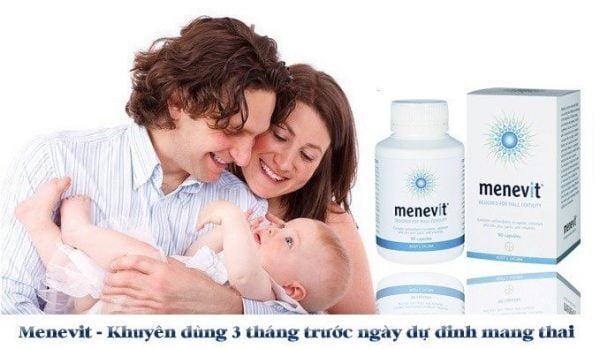 Vitamin tăng cường sinh lý Menevit