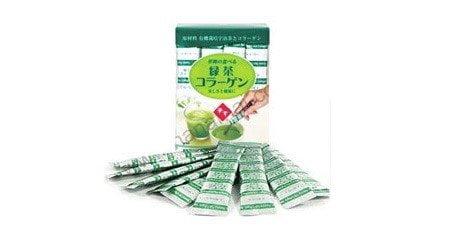 Collagen trà xanh – sản phẩm làm đẹp da chất lượng