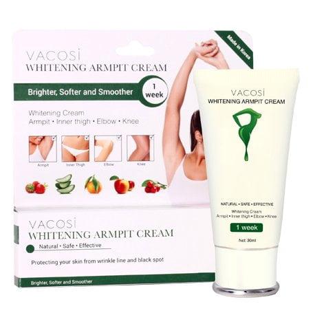 Vacosi Whitening Armpit Cream ikute