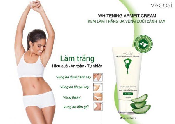 Vacosi Whitening Armpit Cream | Vacosi Whitening Armpit Cream