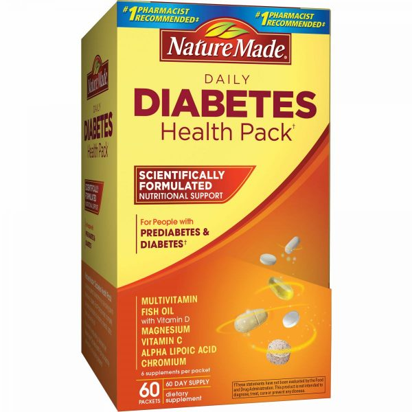 Nature Made Diabetes Health Pack | Nature Made Diabetes Health Pack