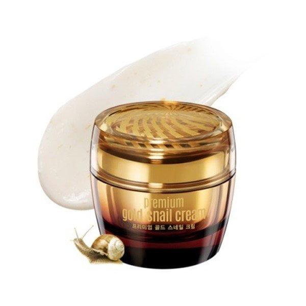 Sản phẩm Premium Gold Snail Cream là một trong những sản phẩm làm đẹp có chứa chiết xuất từ ốc sên | Sản phẩm Premium Gold Snail Cream là một trong những sản phẩm làm đẹp có chứa chiết xuất từ ốc sên