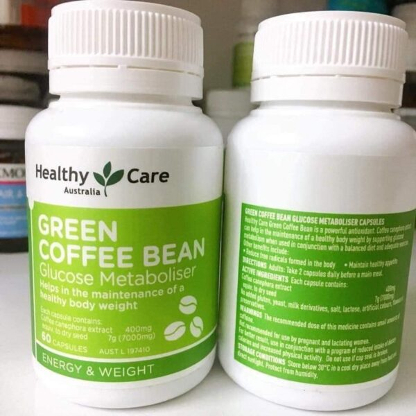 green coffee bean healthy care mẫu mới 1