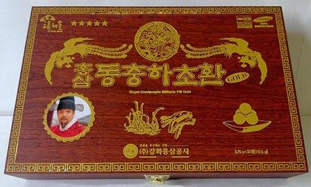 Đông trùng hạ thảo Hồng sâm Hoàng đế | Đông trùng hạ thảo Hồng sâm Hoàng đế