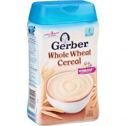 Gerber vị ngũ cốc lúa mì | Gerber vị ngũ cốc lúa mì