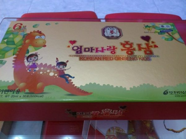 Hong sam baby han quoc pocheon red ginseng kids
