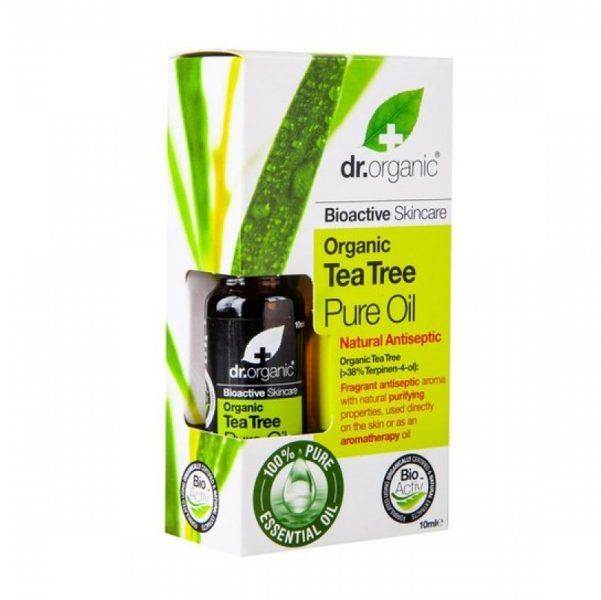 Dr.Organic Organic Tea Tree Pure Oil ikute