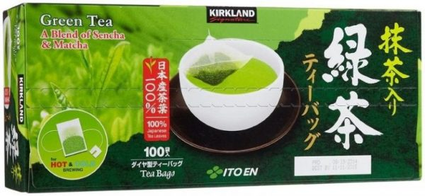 KirkLand Green Tea A Blend Of Sencha and Matcha | KirkLand Green Tea A Blend Of Sencha and Matcha